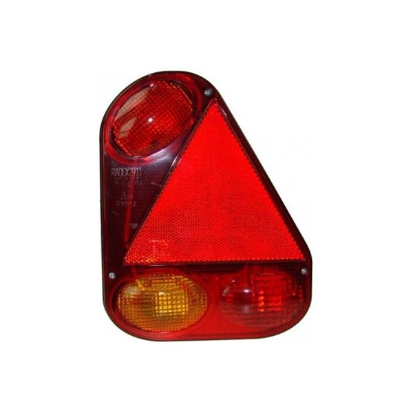5 Function Right Side Rear Lamp 9 Pin