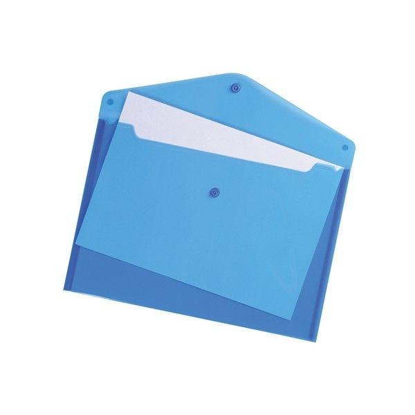 A4 Envelope Wallets Blue Pack Of 5