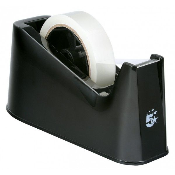 Nonslip Desktop Tape Dispenser Black