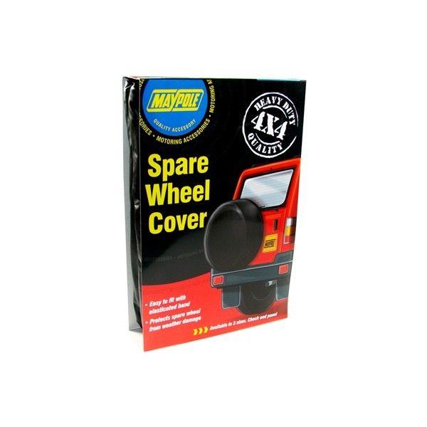 4X4 Wheel Cover 31In.79Cm Diameter Black