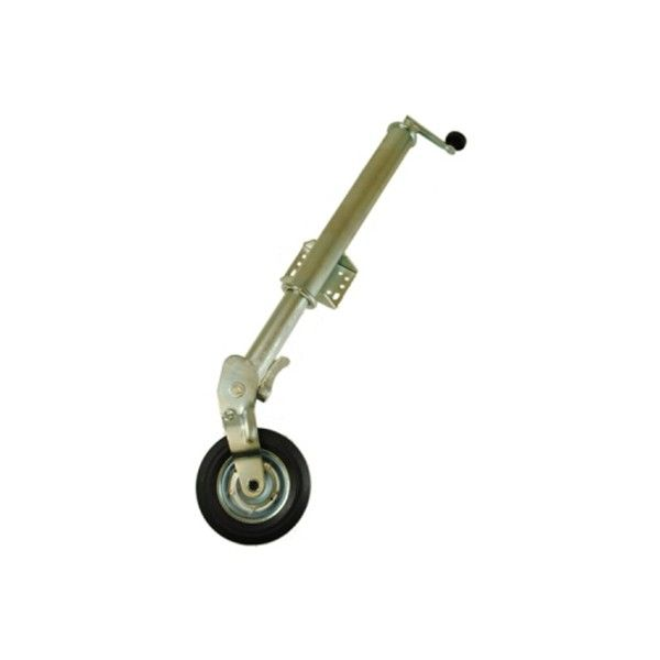 Jockey Wheel Auto Fold 60Mm