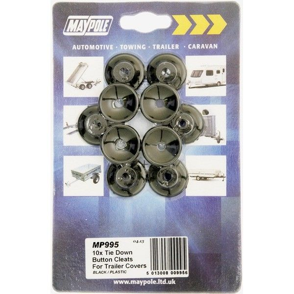 Trailer Cover Plastic Button Cleats