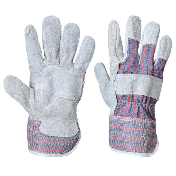 Canadian Rigger Gloves Grey Pack Of 12