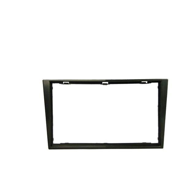 Fascia Panel Vauxhall Piano Black Double Din