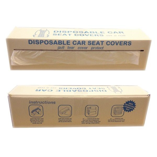 Disposable White Seat Covers Roll Of 100