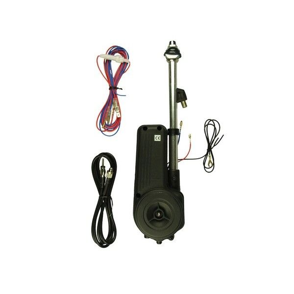 Aerial Universal Electric Amfm Silver