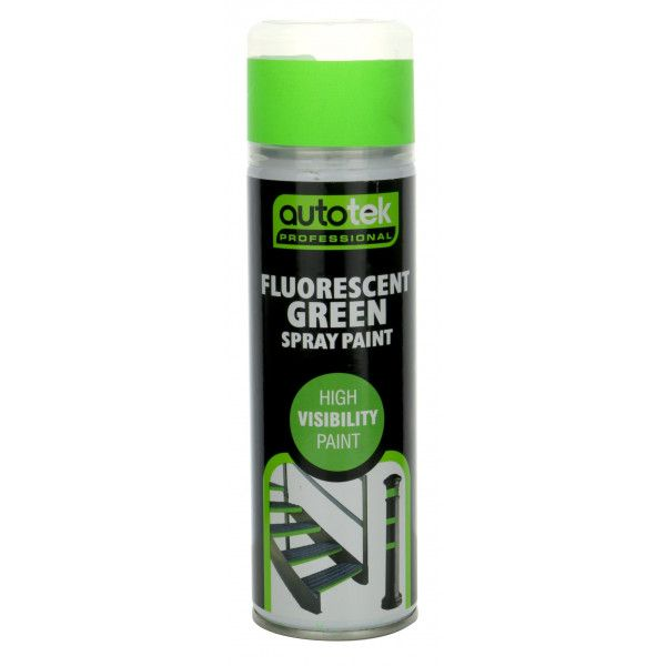 Aerosol Paint Fluorescent Green 500Ml