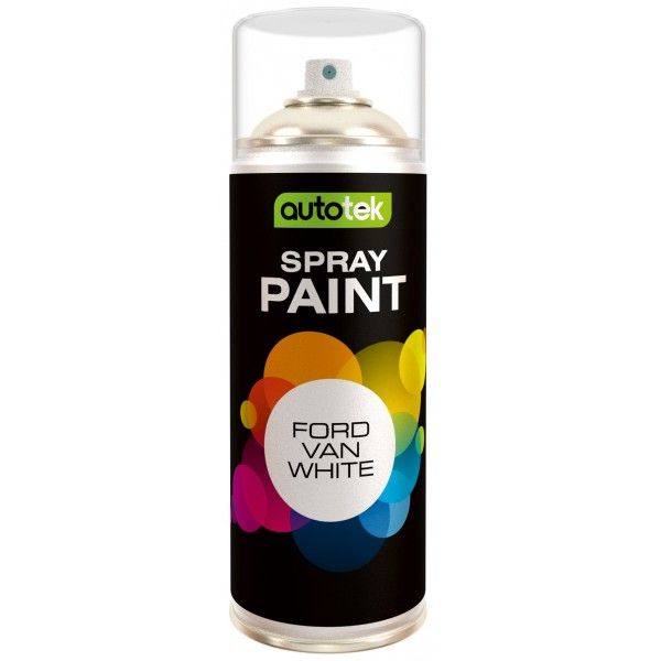 Aerosol Paint Ford Van White 400Ml