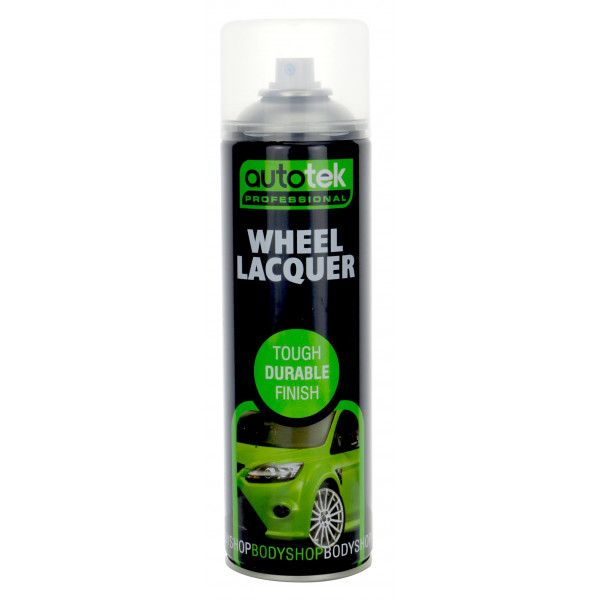 Wheel Clear Lacquer 500Ml