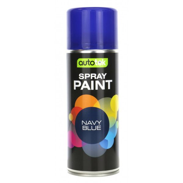 Aerosol Paint Gloss Navy Blue 400Ml