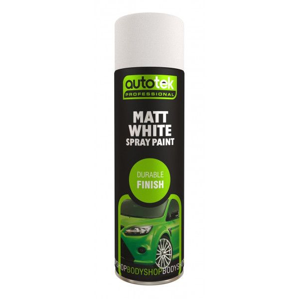 Aerosol Paint Matt White 500Ml