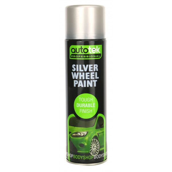 Wheel Paint Silver 500Ml