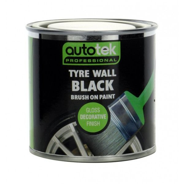 Tyre Wall Black 250Ml