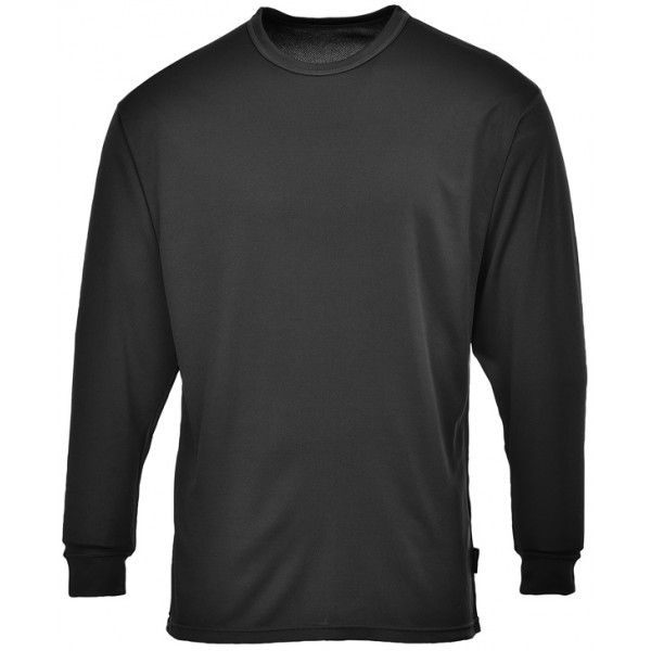 Thermal Base Layer Top Black Large