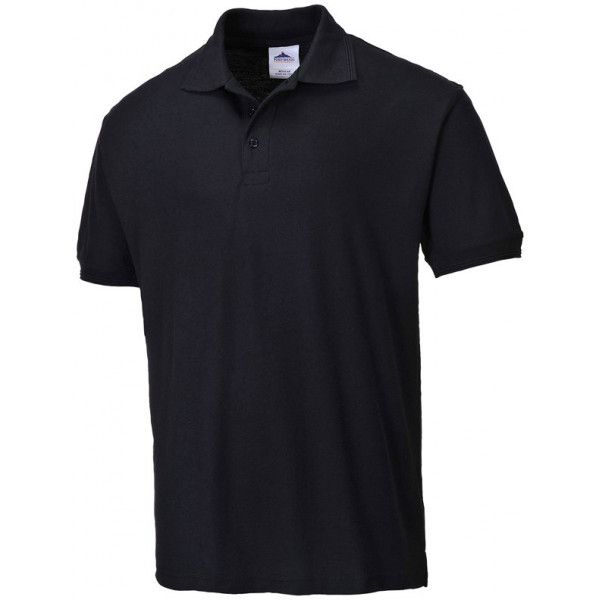 Naples Polo Shirt Black Large