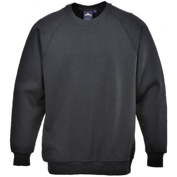 Polycotton Sweatshirt Black Medium