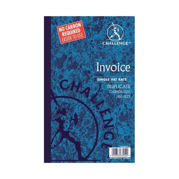 Duplicate Invoice Books With Vattax 100 Sets Pack Of 5