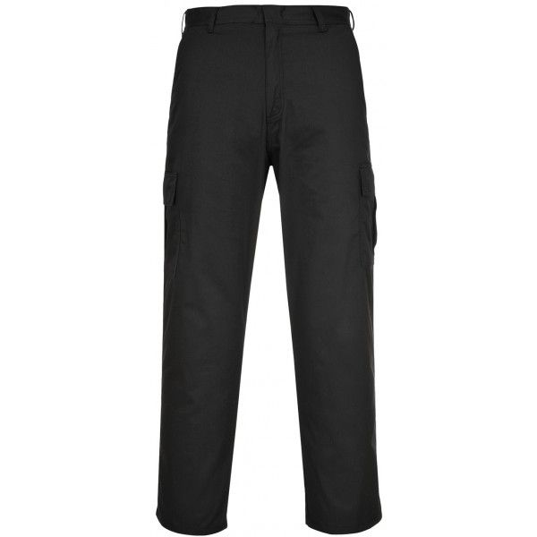 Combat Trousers Black 36In. Waist Regular