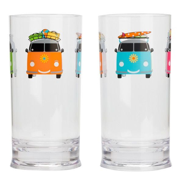 Camper Smiles Tall Tumbler Pack Of 2