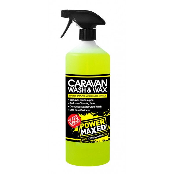 Power Maxed Caravan Wash 1Ltr Ready To Use