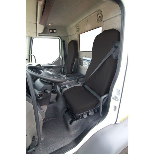 Truck Seat Cover Driver Left Hand Drive Black Daf Lf 2012 Onwards