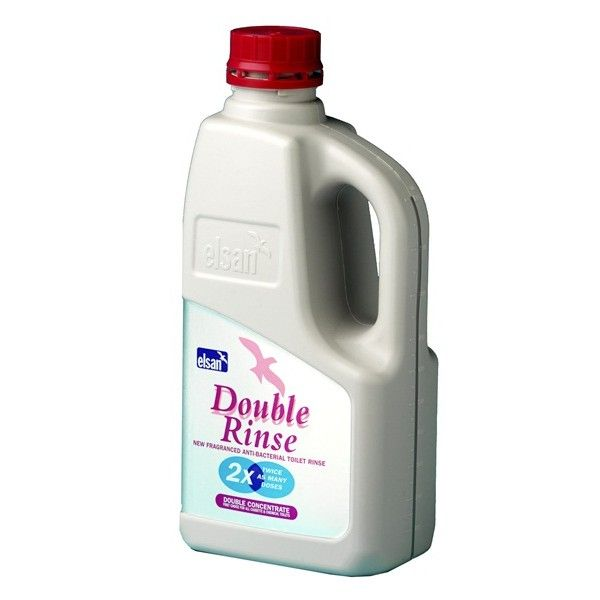 Toilet Fluid Double Rinse 1 Litre