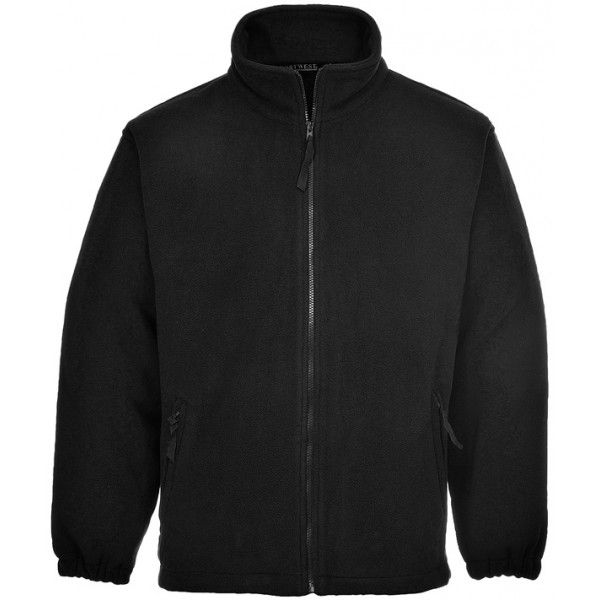 Aran Fleece Black Medium