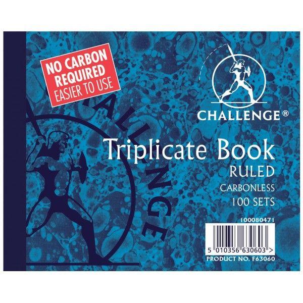 Triplicate Ruled Books 100 Sets Pack Of 5