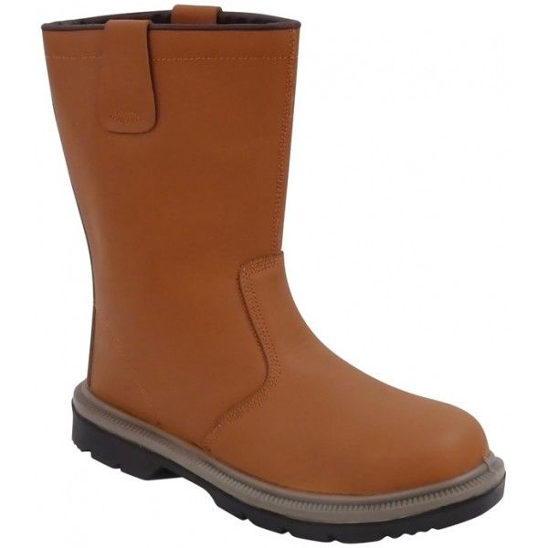 Steelite Rigger Boots Tan Uk 8