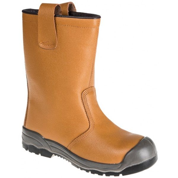 Steelite Rigger Boots S1p Ci Tan Uk 9