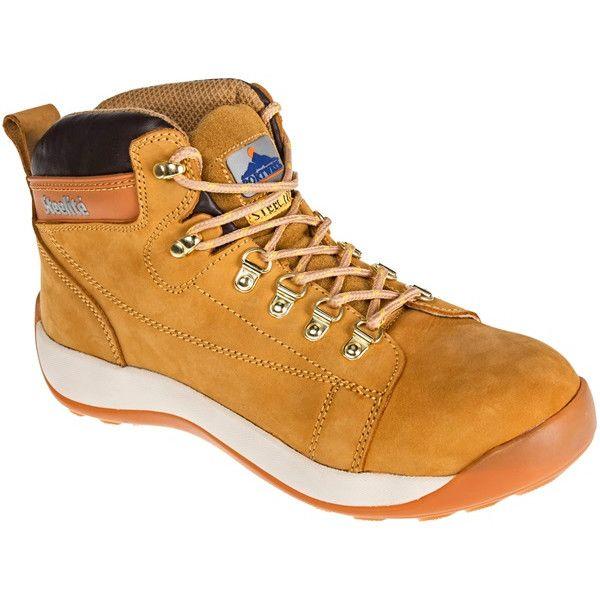 Midcut Nubuck Boots Honey Uk 8