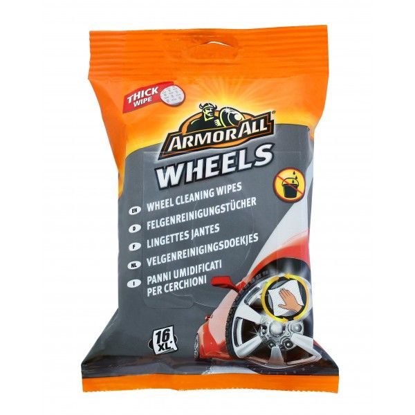 Wheel Cleaning Wipes Pack Of 16