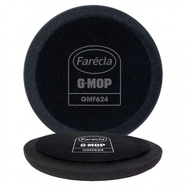 G Mop 6In. Flexible Black Finishing Foam Pack Of 2
