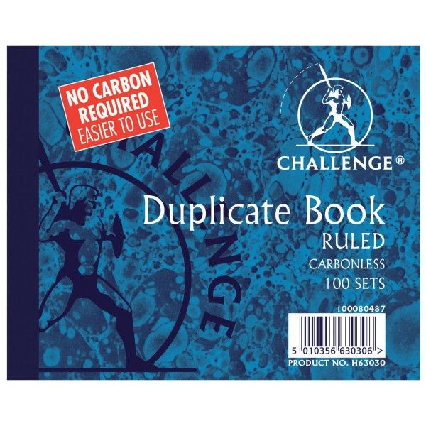 Duplicate Ruled Books 100 Sets Pack Of 5
