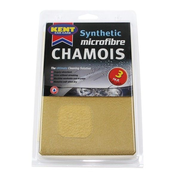 Microfibre Synthetic Chamois Leather 3 Square Foot Bagged