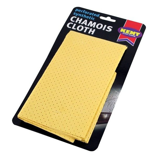Perforated Synthetic Chamois Leather 400Mm X 400Mm On Card
