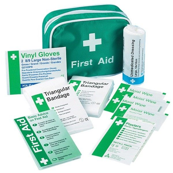 Travel First Aid Kit In Nylon Case 1 Person