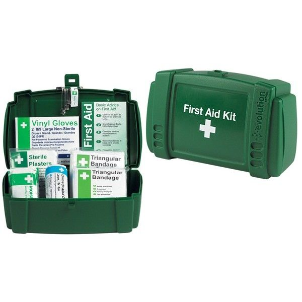 Travel First Aid Kit In Plastic Case 1 Person
