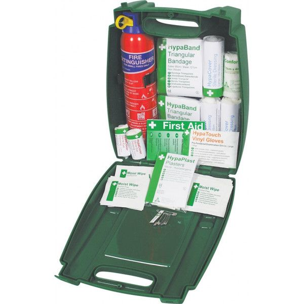 Pcv First Aid Fire Extinguisher Kit In Evolution Box