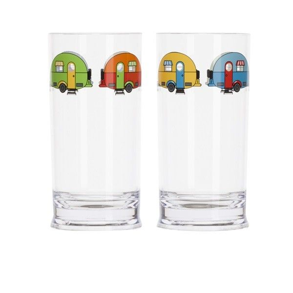 Love Caravanning Tall Tumbler Pack Of 2