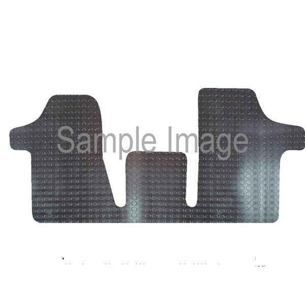 Rubber Tailored Car Mat Mercedes Vito 2003 Onwards Pattern 1411