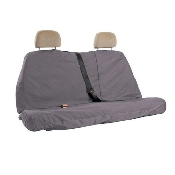 Car Seat Cover Multi Fit Rear Large Grey