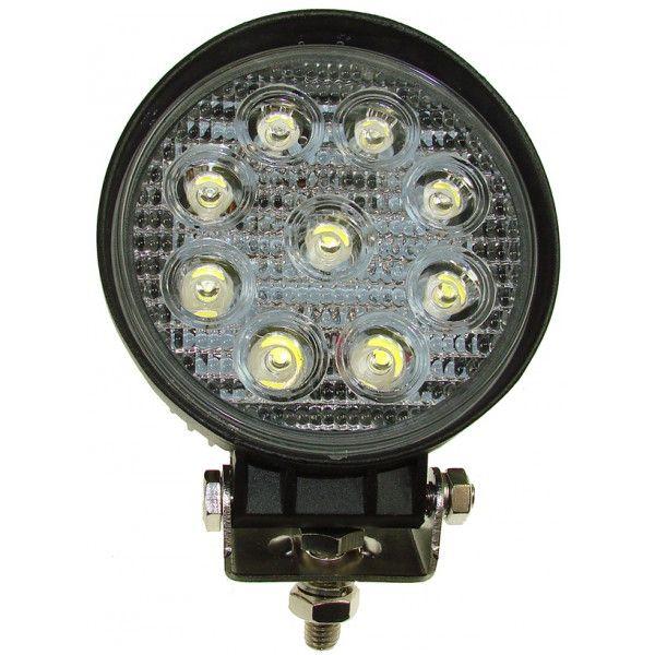 1224V Spot Led Work Lamp 9 X 3W