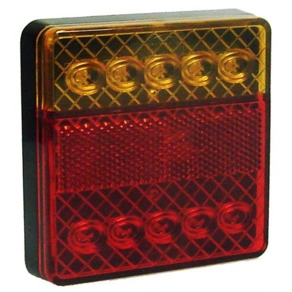 12V Led Rear Square Combination Lamp