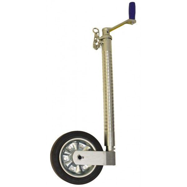 750Kg Heavy Duty Serrated Jockey Wheel No Clamp 48Mm