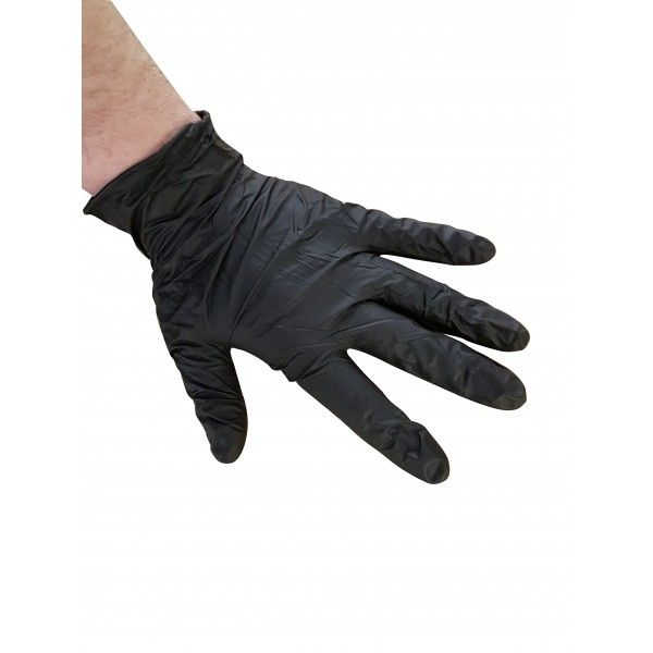 Black Rhino Hd Nitrile Gloves Small