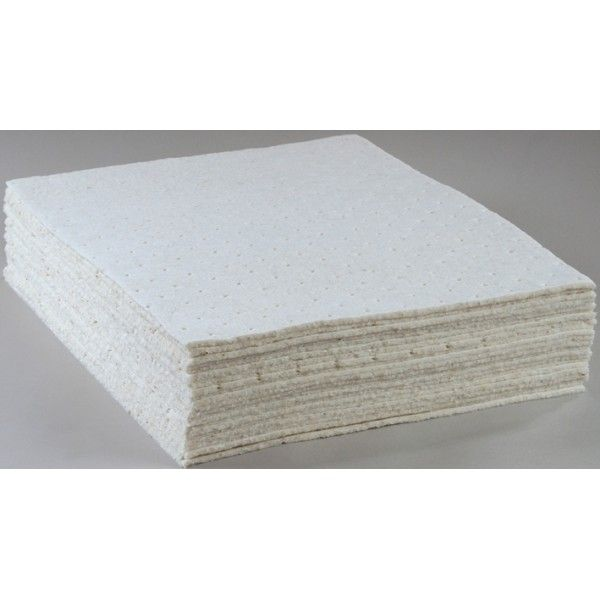 Oil Only Absorbent Pads 41Cm X 46Cm Pack Of 100