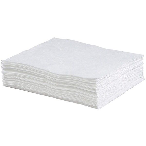 Oil Only Absorbent Pads 50Cm X 40Cm Pack Of 100