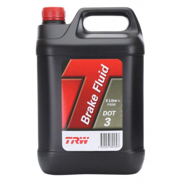 Dot 3 Synthetic Brake Fluid 5 Litre