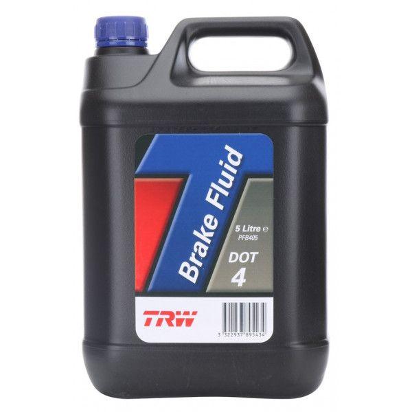 Dot 4 Synthetic Brake Fluid 5 Litre